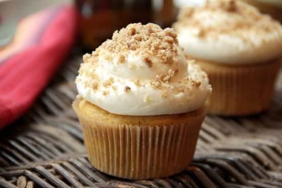 Pumpkin Ale Cupcakes
