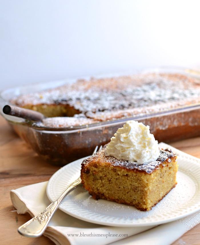Extra Thick Pumpkin Cake