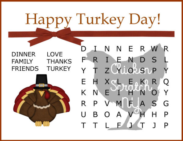 graphic regarding Printable Thanksgiving Word Searches named Tumble Thanksgiving Phrase Glimpse