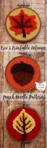 #punchneedle #freepunchneedle #freeembroiderypattern #punchneedleembroidery #leafembroidery