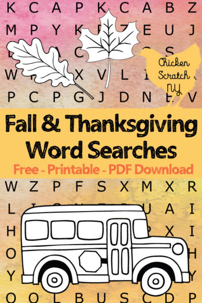 image relating to Fall Word Search Printable called Tumble Thanksgiving Term Glance