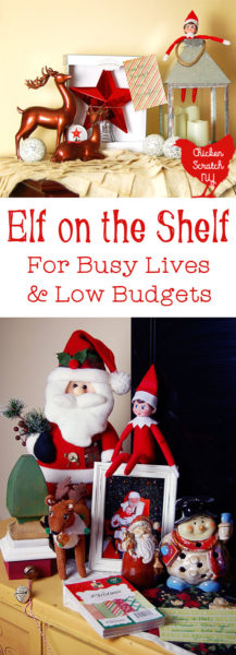 Don't get overwhelmed with Elf on the Shelf mania. Find out how to incorporate the tradition into your Christmas without spending too much time or money