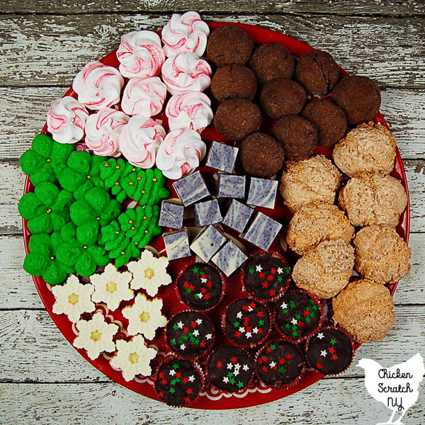 Mix flavors, colors and textures for a fantastic Christmas Cookie Tray that could impress the Grinch himself!