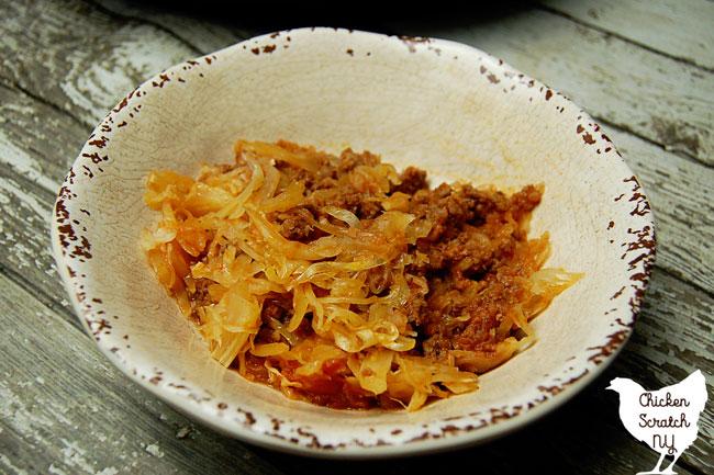 Stuffed Cabbage Casserole – Paleo & Grain Free