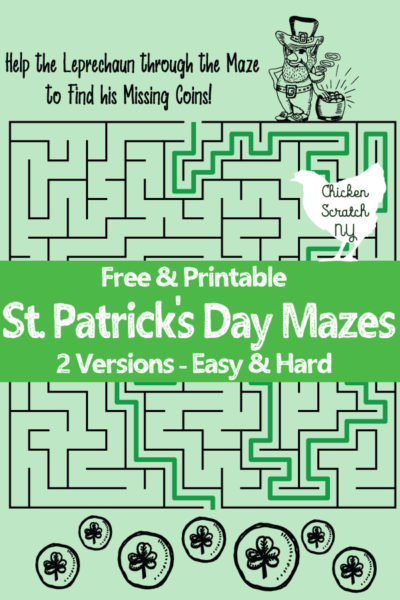 If Youve Ever Talked To Mary About Anything Youd Know That Green Is Her Favorite Color And St Patricks Day All Also Loves Mazes