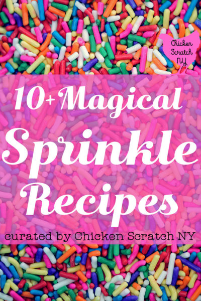 10+ Magical Sprinkle Filled Recipes
