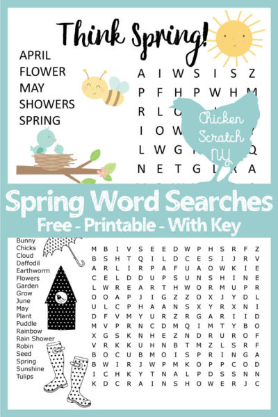 photo about Spring Word Search Printable referred to as Spring Phrase Seem