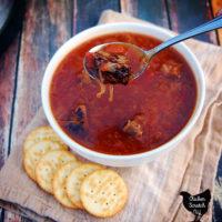 Sauerkraut & Beef Stew