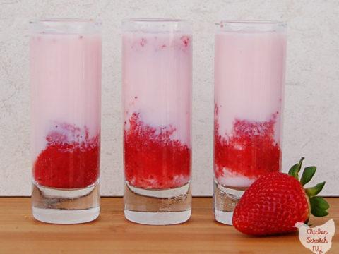 Awesome Strawberry Shortcake Shot Funny Birthday Cards Online Fluifree Goldxyz