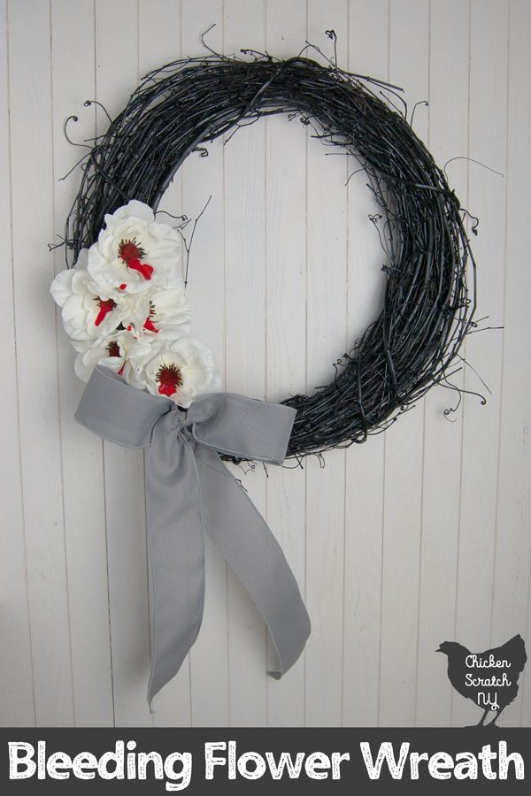 Bleeding Flower Wreath