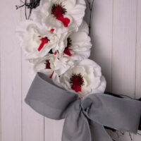 Bleeding Flower Wreath
