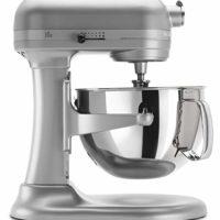 KitchenAid KP26M1XNP 6 Qt. Professional 600 Series Bowl-Lift Stand Mixer - Nickel Pearl
