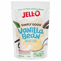 Jell-O Simply Good Vanilla Bean Instant Pudding Mix 3.4 Ounce Bag