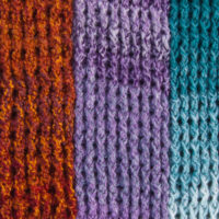 Around the Post Double Crochet Scarf