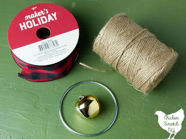 macrame wreath ornament supplies