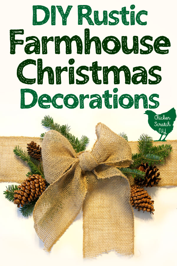 Diy Rustic Farmhouse Christmas Decor Wreaths Ornaments And More