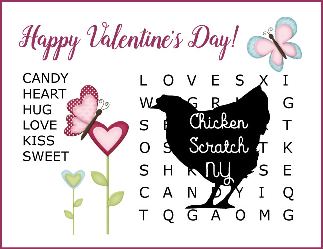 image about Valentine Word Searches Printable named No cost Valentines Working day Printable Wordfinds
