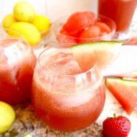 Refreshing Cucumber Watermelon Juice {Paleo, Vegan}