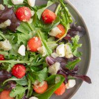 Watermelon Salad With Arugula