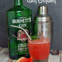 Watermelon Mint Gin Smash