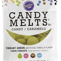 Wilton 1911-6078 Vibrant Green Candy Melts, 12 oz.
