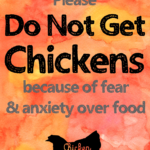 do not get chickens