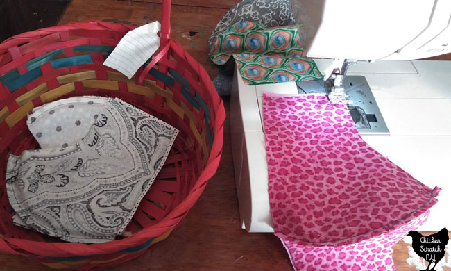sewing fabric face masks from quilters cotton at home