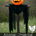 animal crossing new horizons spooky scarecrow DIT