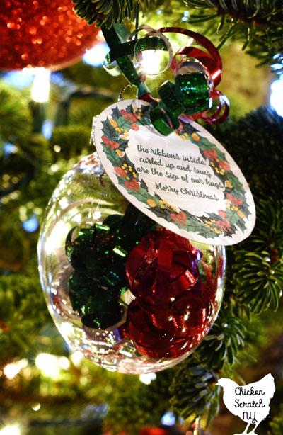 Send a Hug Ornament