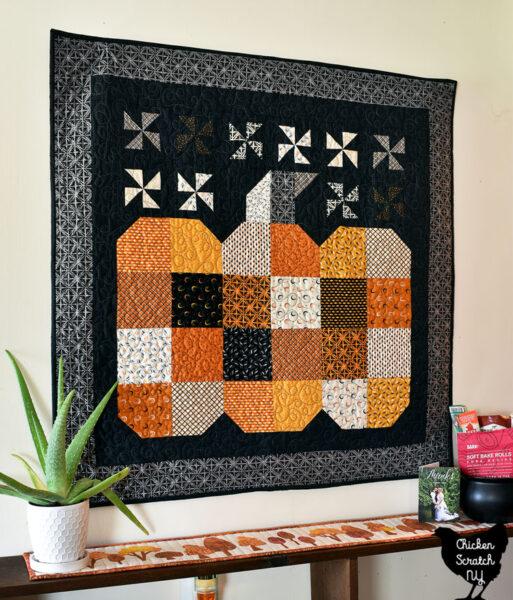 The Great Pumpkin Wall Quilt